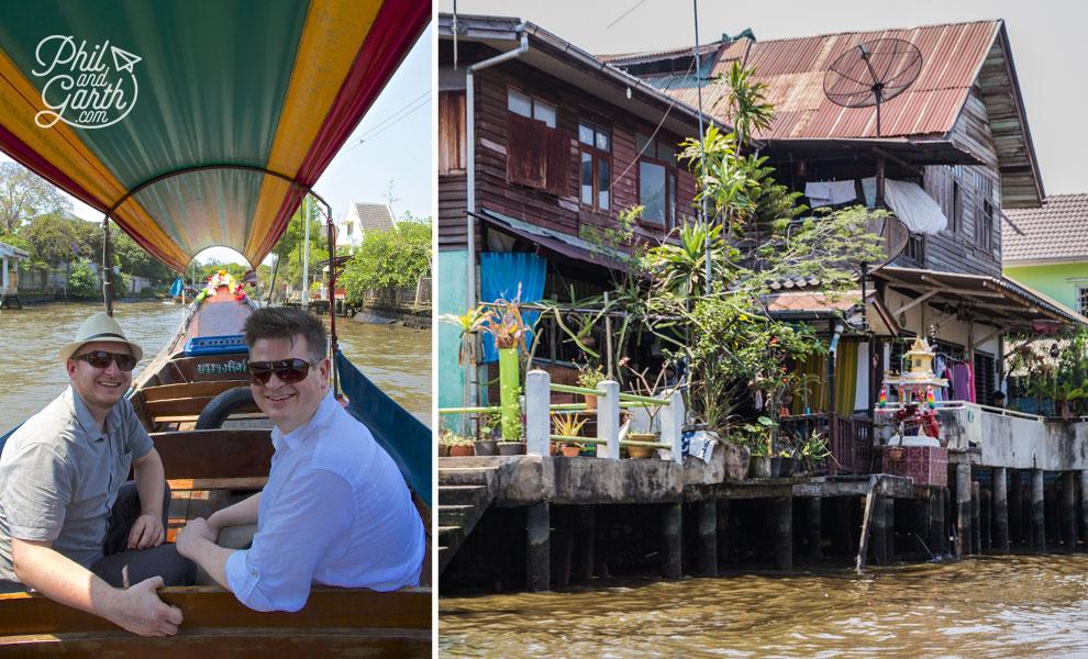 Canals_long_tail_boat_Bangkok_video_and_review