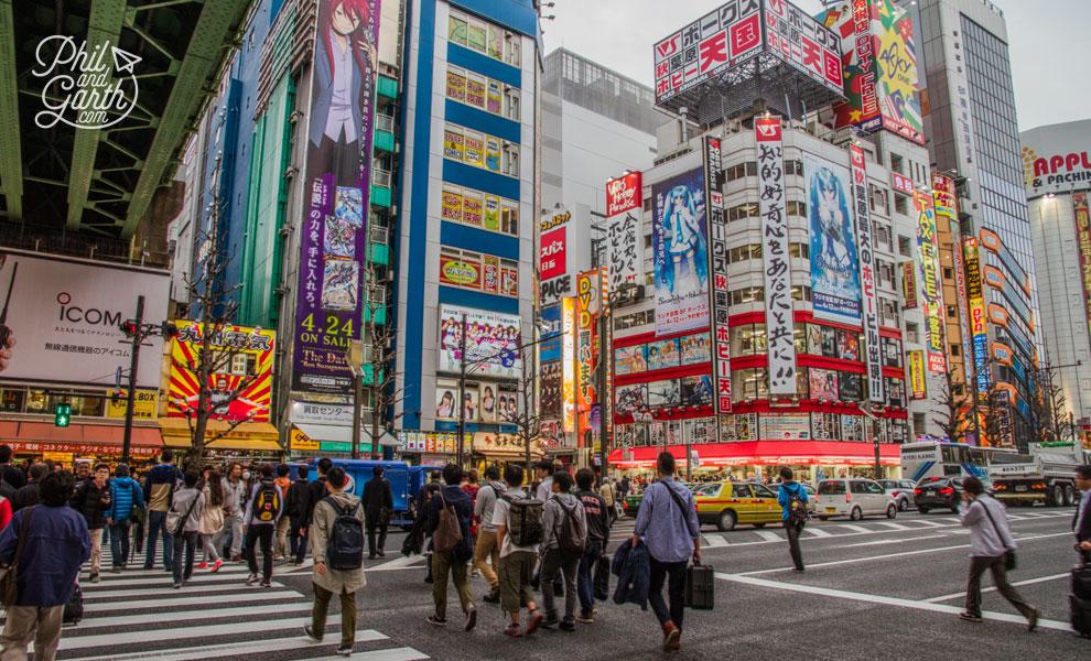 Tokyo_Akihabara_travel_review_and_video