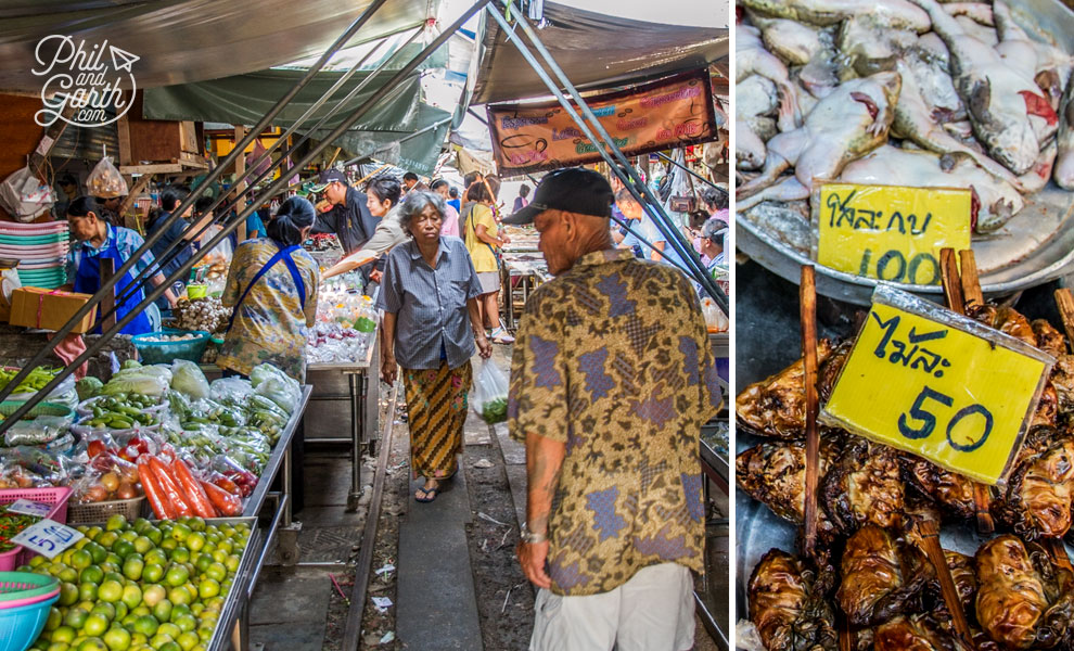cooked_frogs_market_Bangkok_video_and_review