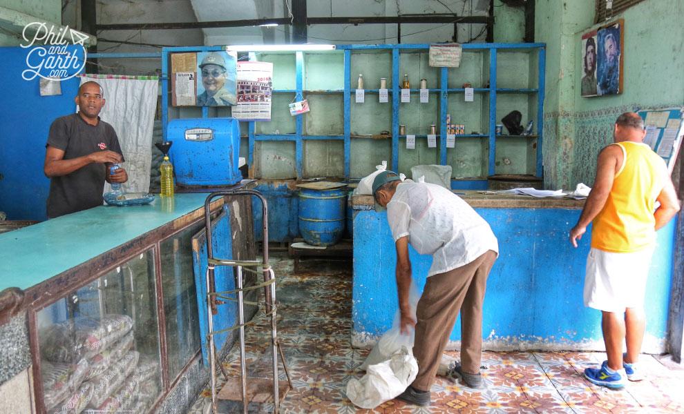Old Havana ration store