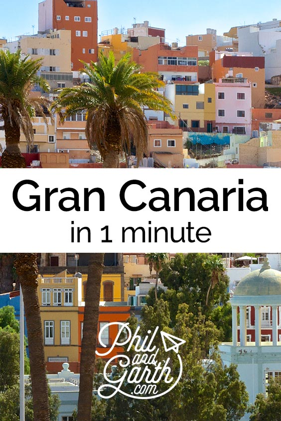 Watch Gran Canaria in 1 minute - sightseeing, must see sights, things to do, top 5 tips, food review, photography inspiration, advice and information. Read our full travel guide on our blog www.philandgarth.com