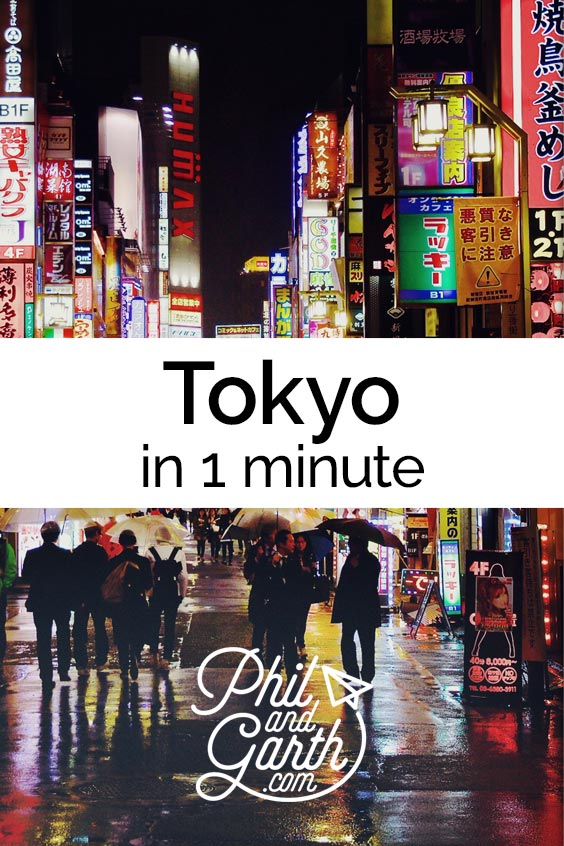 Watch Tokyo in 1 minute - sightseeing, must see sights, things to do, top 5 tips, food review, photography inspiration, advice and information. Read our full travel guide on our blog www.philandgarth.com
