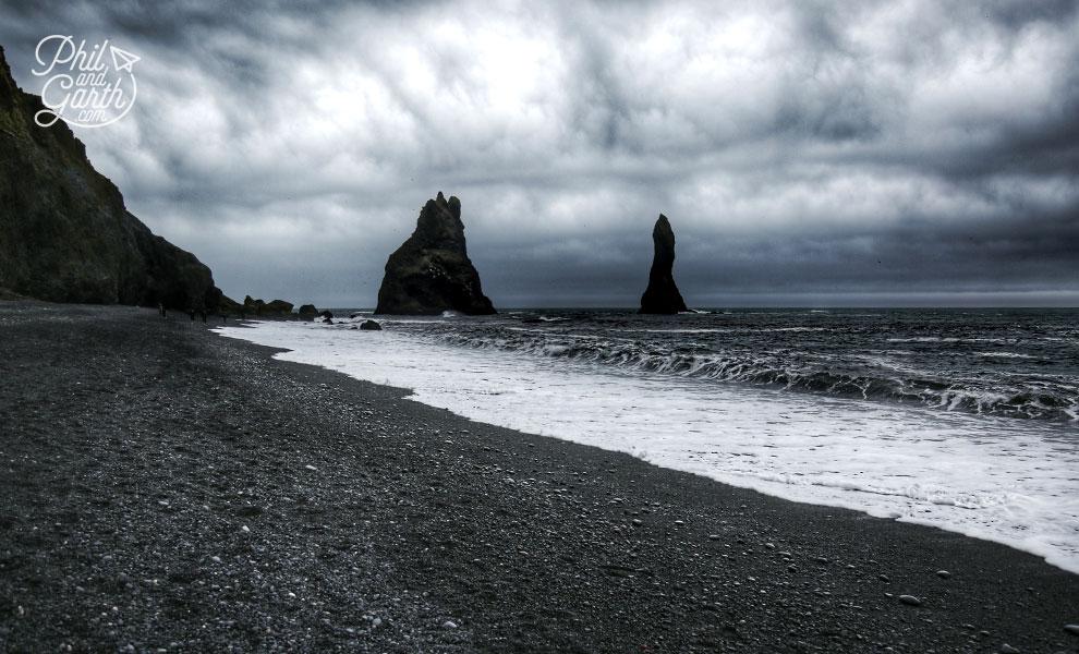 Iceland-south-Reynisfjara-black-sand-beach-travel-review