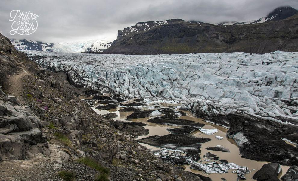 Iceland-south-glacier-hike-Svinafelljokull-glacier-wide-travel-review
