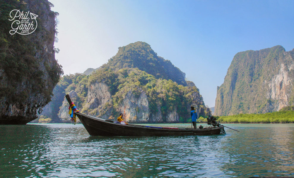 Phuket-Phang-Nga-Bay-long-tail-boat-Sea-Canoe-simba-sea-trips-travel-review