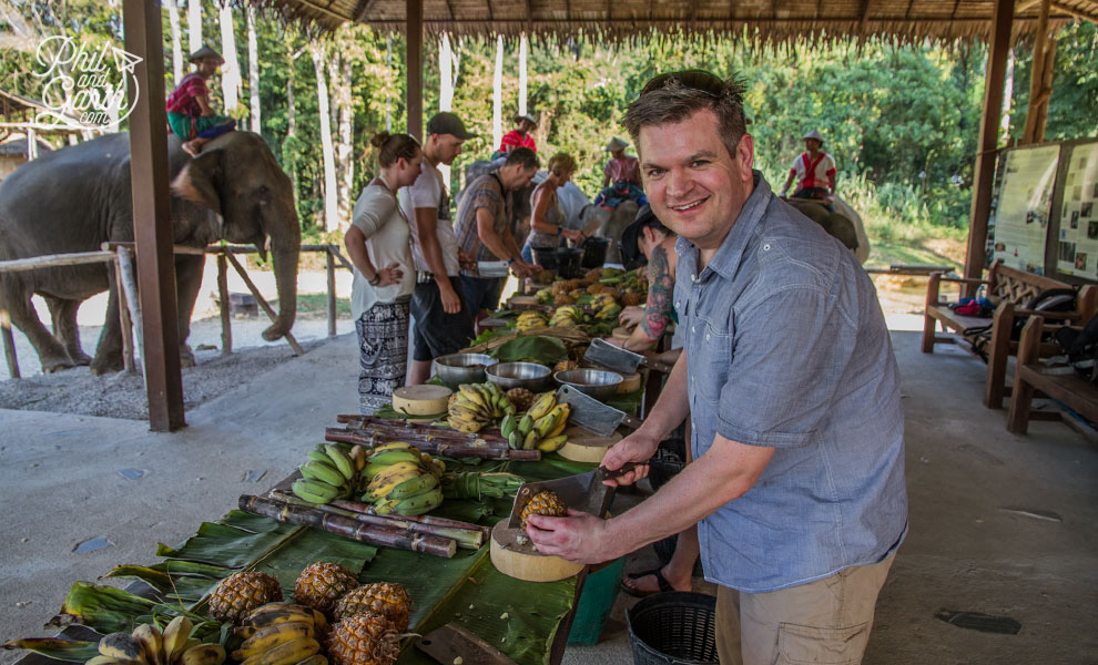 khao_sok_elephant_hills_preparing_food_for_the_elephants_travel_review_and_video