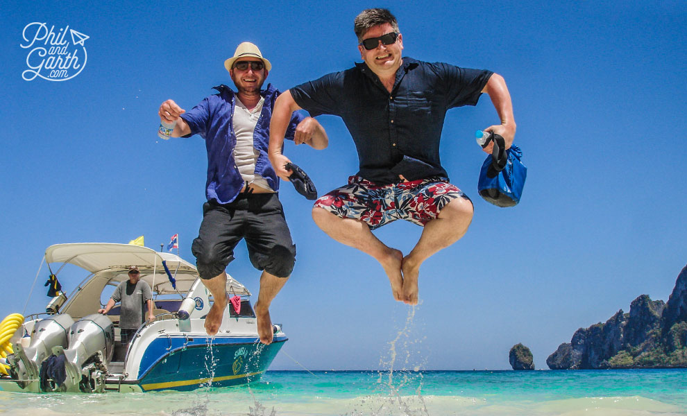 Phuket_Ko_Phi_Phi_Don_Phil_and_Garth_at_Monkey_Beach