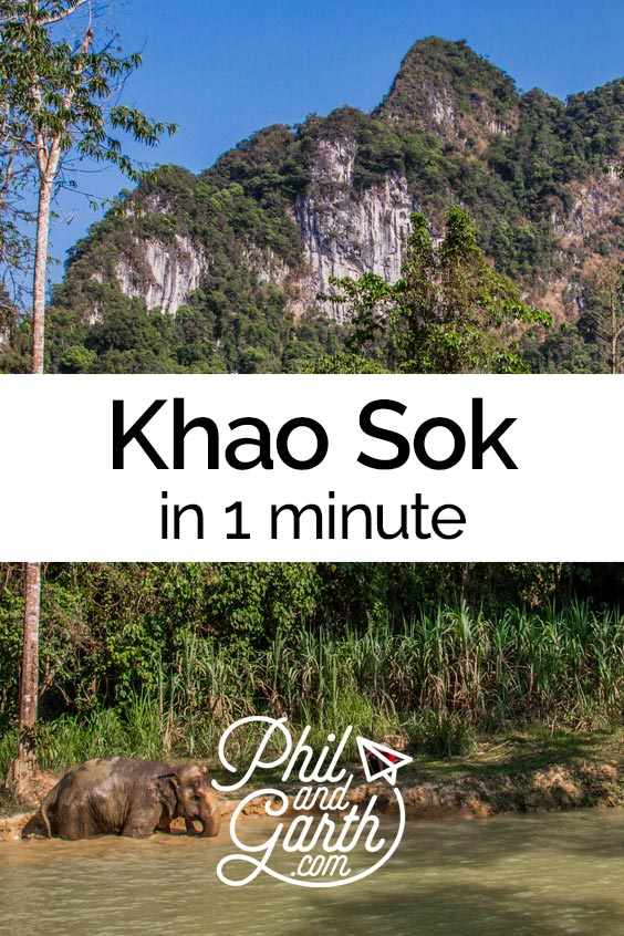 Watch Elephant Hills, Khao Sok in 1 minute or read our travel guide.