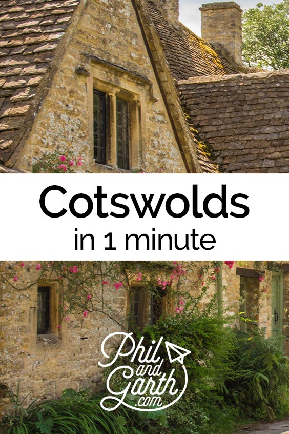 Watch the Cotswolds, England in 1 minute or read our travel guide.