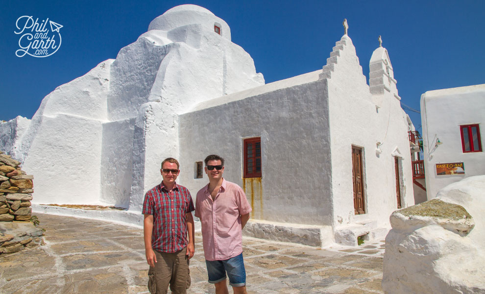 Garth and Phil in Mykonos
