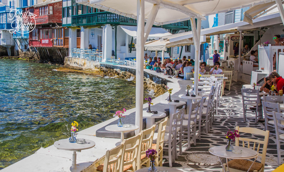 mykonos_town_Little_Venice_restaurants_travel_review