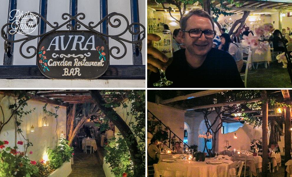 Avra garden restaurant