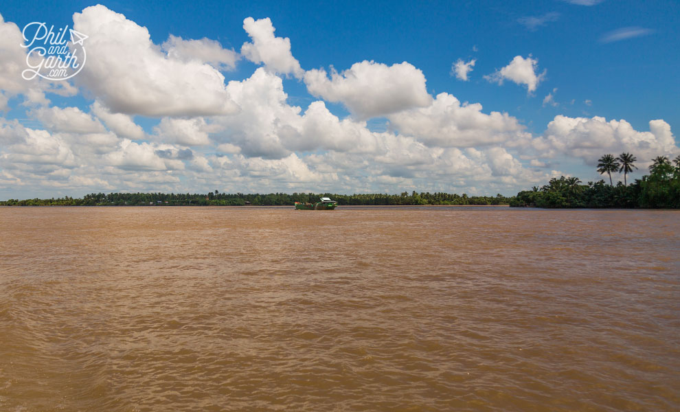 The mighty Mekong River Delta