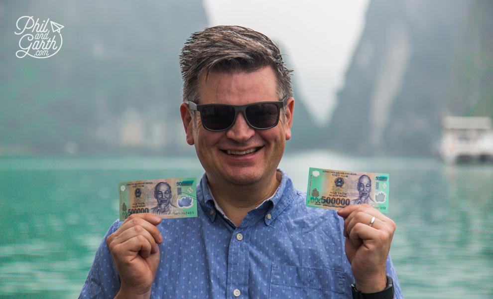 Phil is a Vietnamese millionaire!