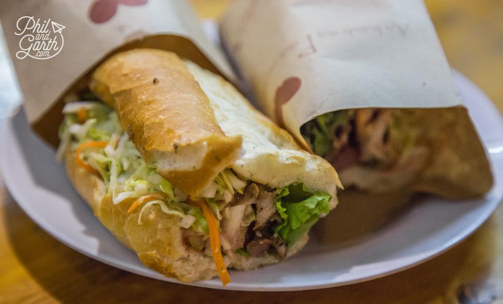Banh Mi Vietnamese bread