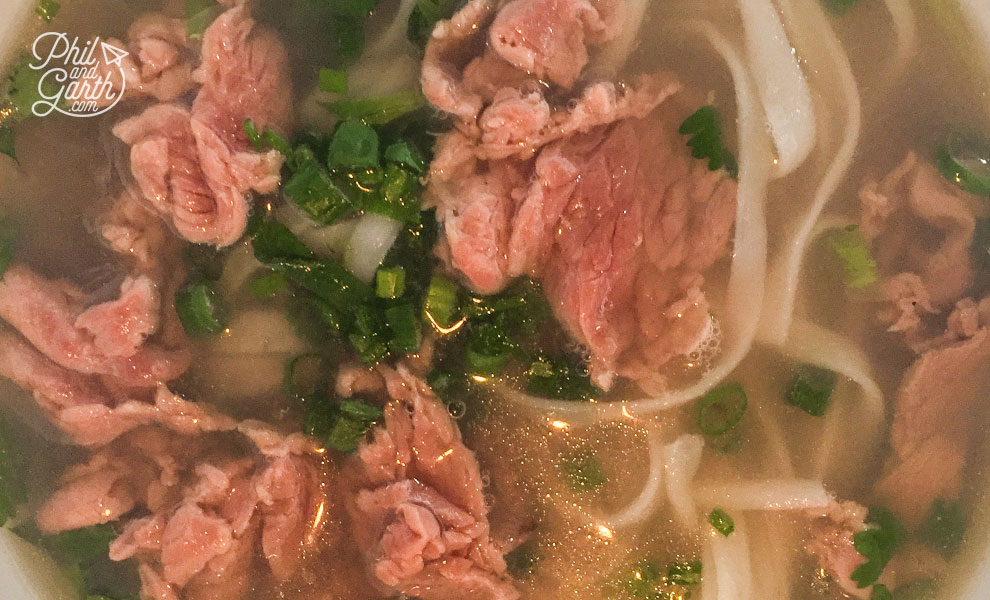 The most popular dish - Pho