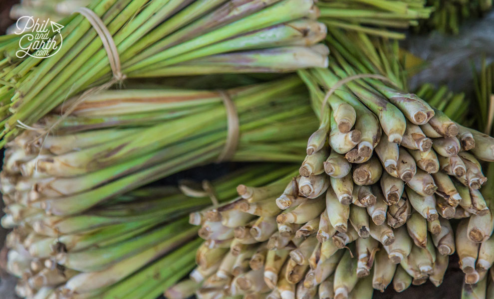 Fresh lemongrass for sale