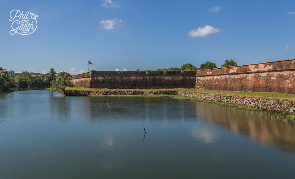 The outer walls of the citadel