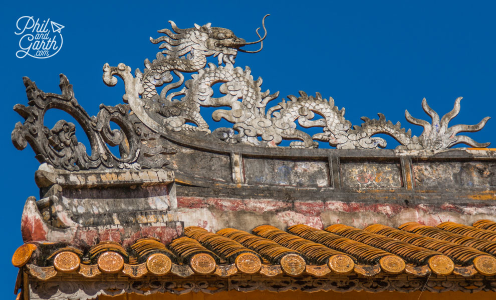 Ornate roof decoration