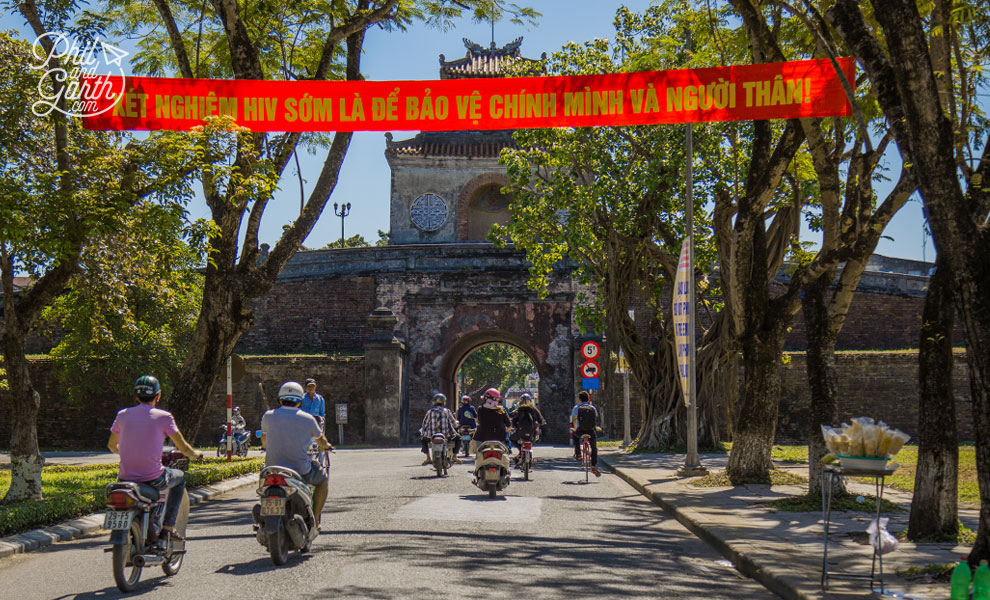 One of Hue's Citadel gates