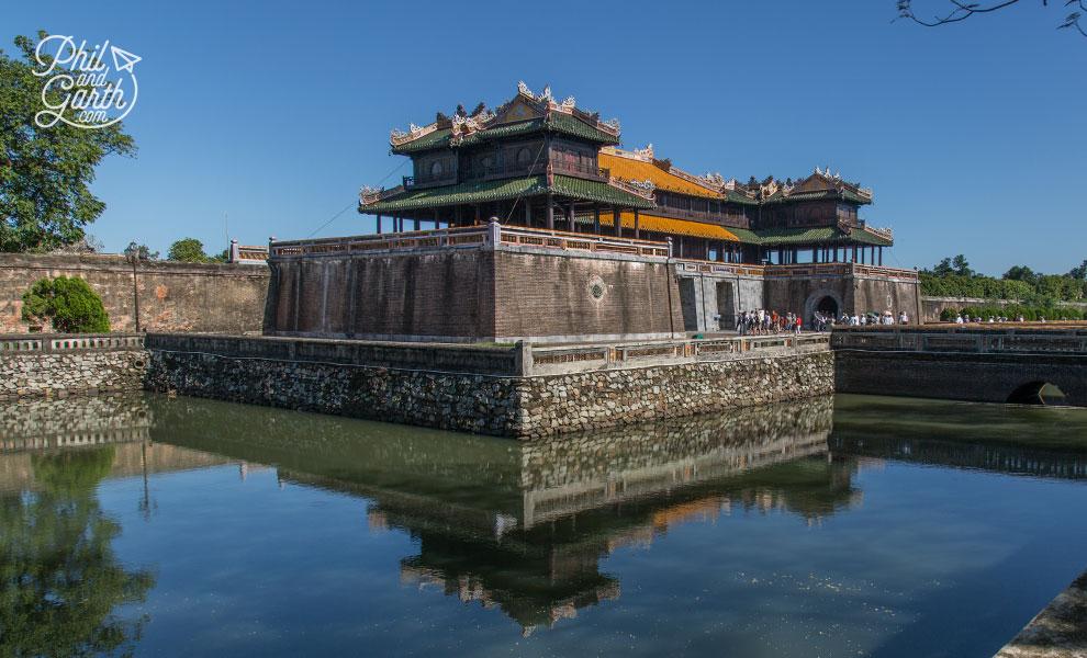 Ngo Mon Gate gateway to the Imperial City