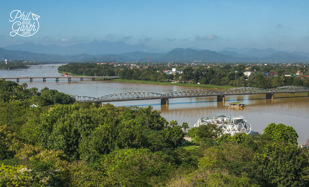 View of Hue and the Perfume River