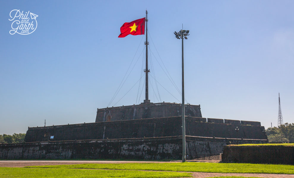 Hue's Flag Tower called the King's Knight
