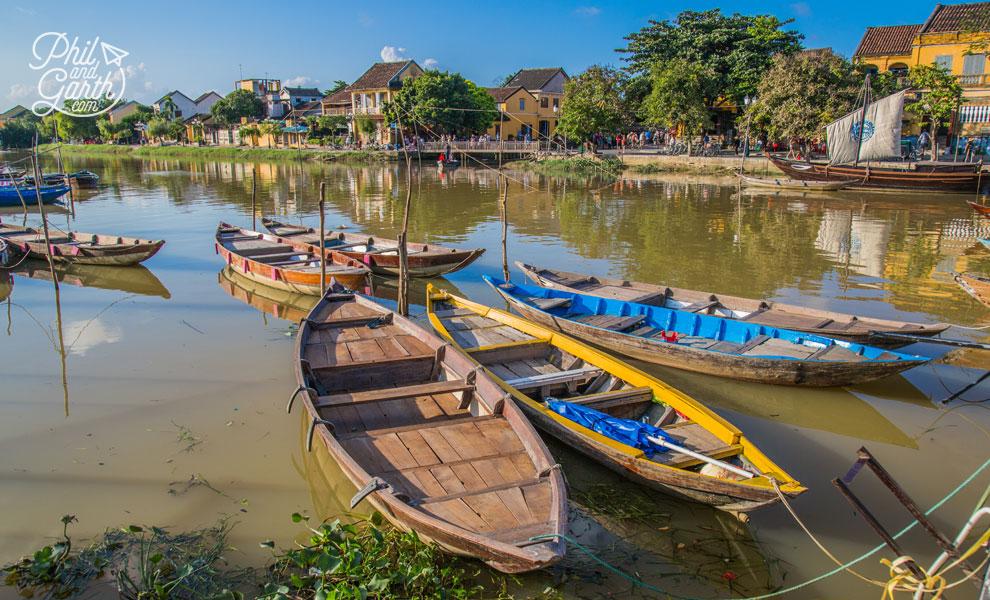 Pretty waterfront scenes