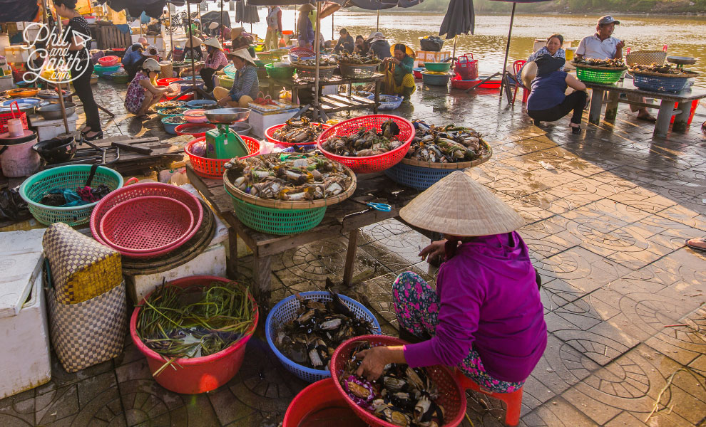 Hoi An's fish market