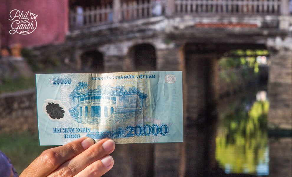 20,000 Dong banknote
