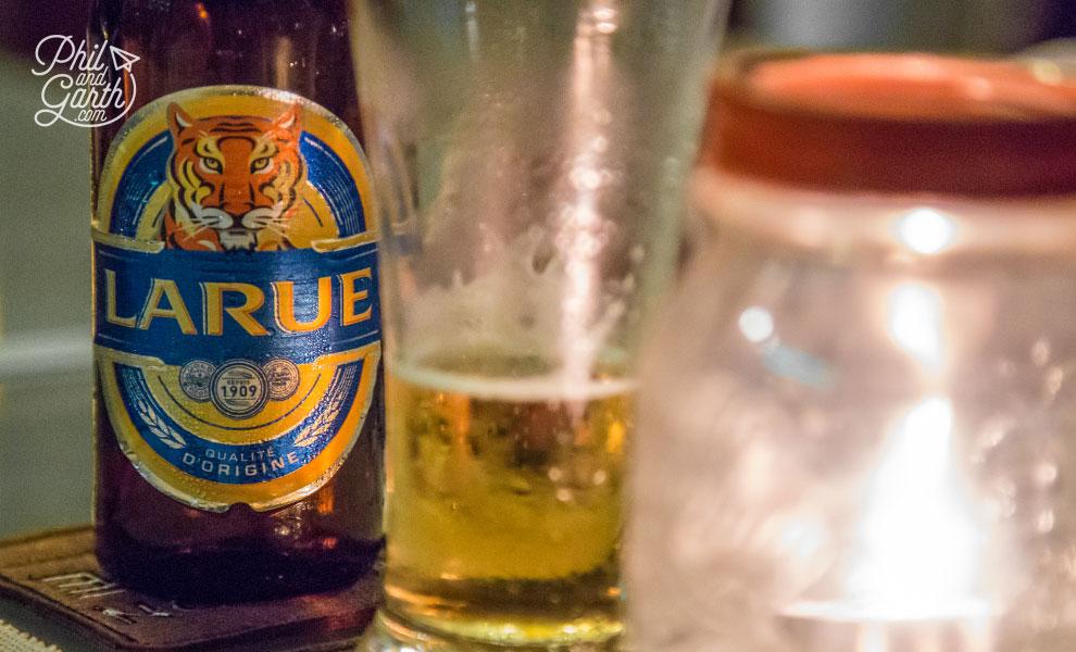Larue, the local beer