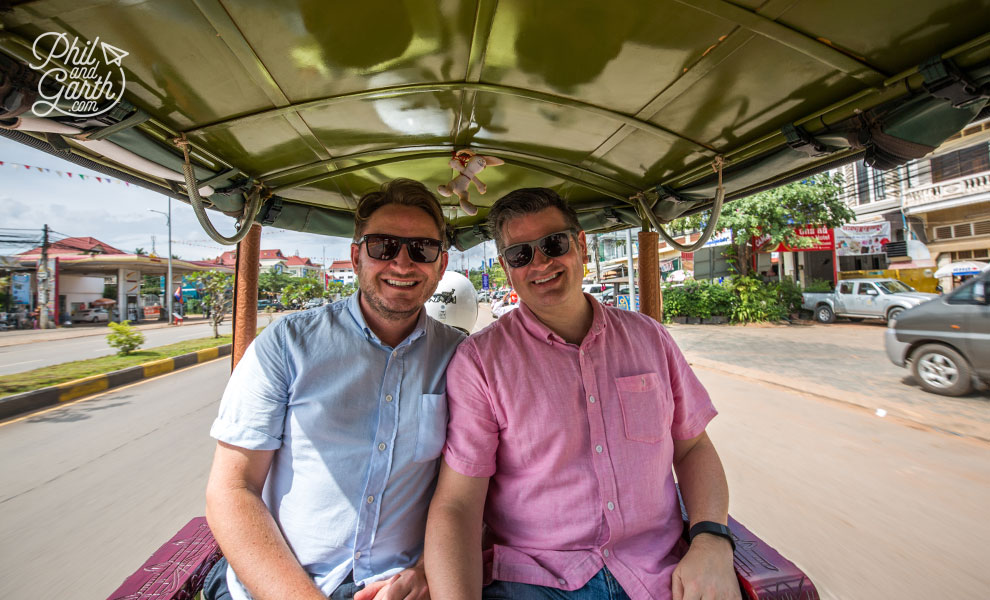 Garth & Phil in Siem Reap