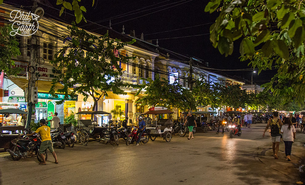 Evening in Siem Reap