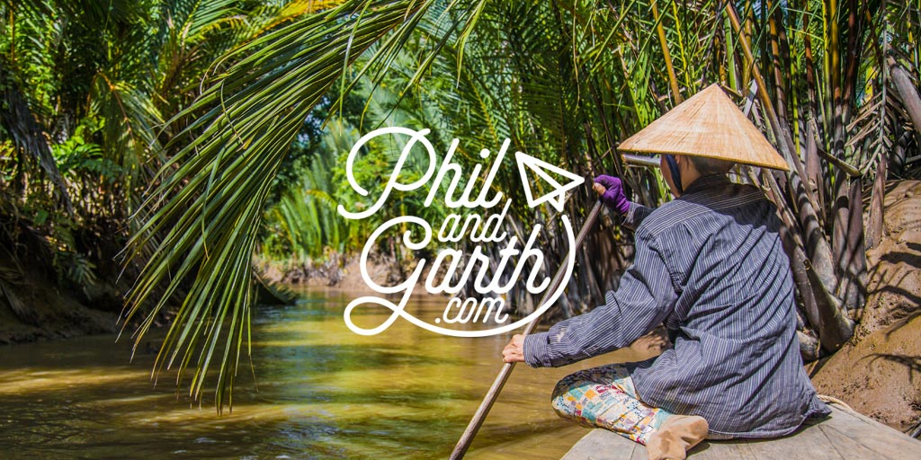 Phil and Garth's Travel guide to the Mekong Delta plus 60 Seconds tips video