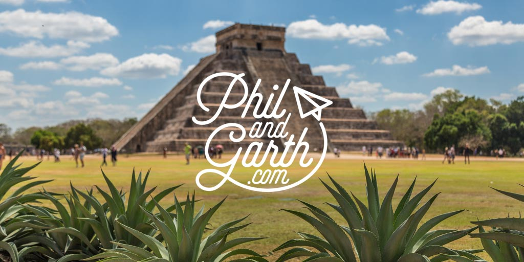Phil and Garth's Travel guide to Chichen Itza plus 60 Seconds tips video