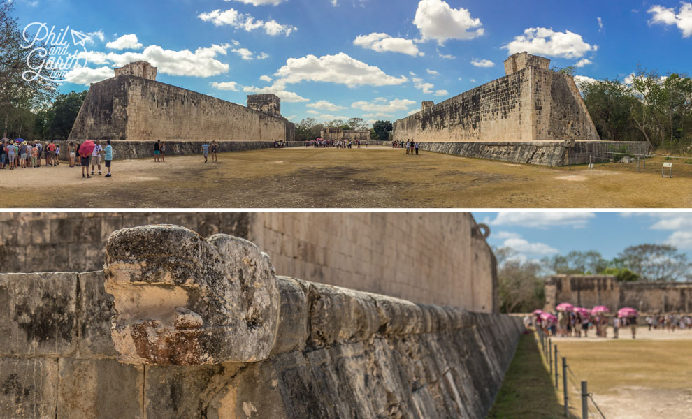 This is the largest Mayan ballcourt ever discovered