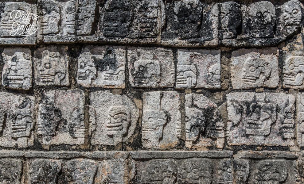 The Wall of Skulls