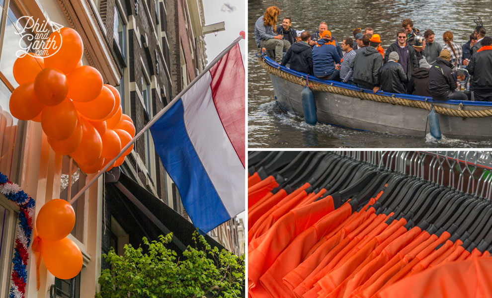 King's Day is all about orange