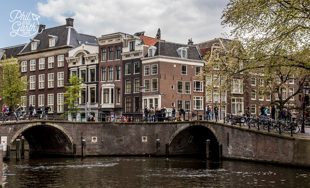 Amsterdam's charming canals