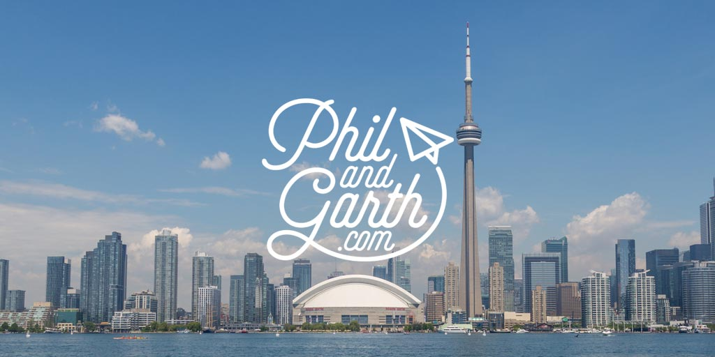 Phil and Garth - Magazine cover