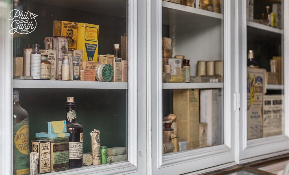 The Niagara Apothecary dispensed medicine from 1820-1964