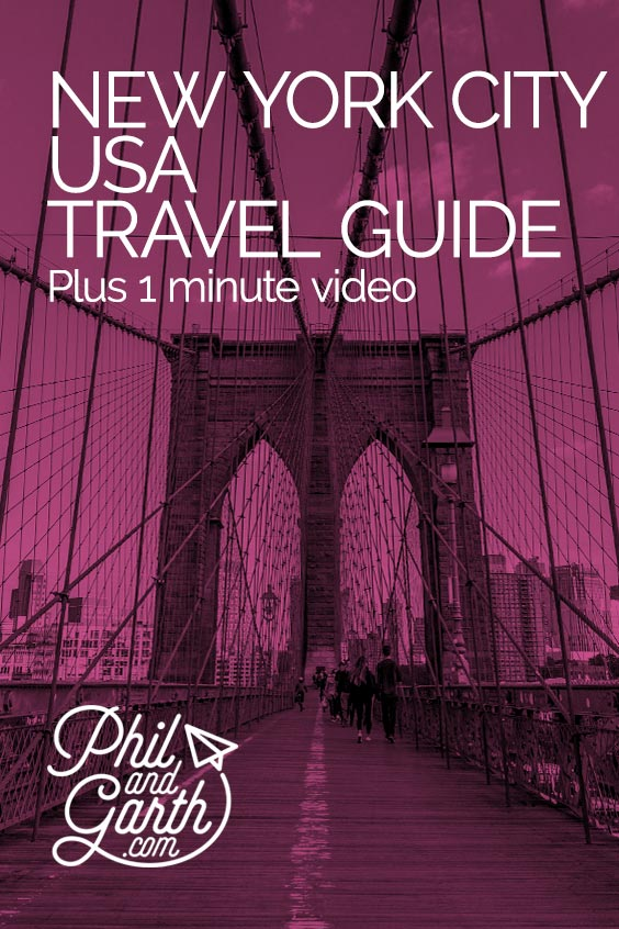 New York City travel guide and video