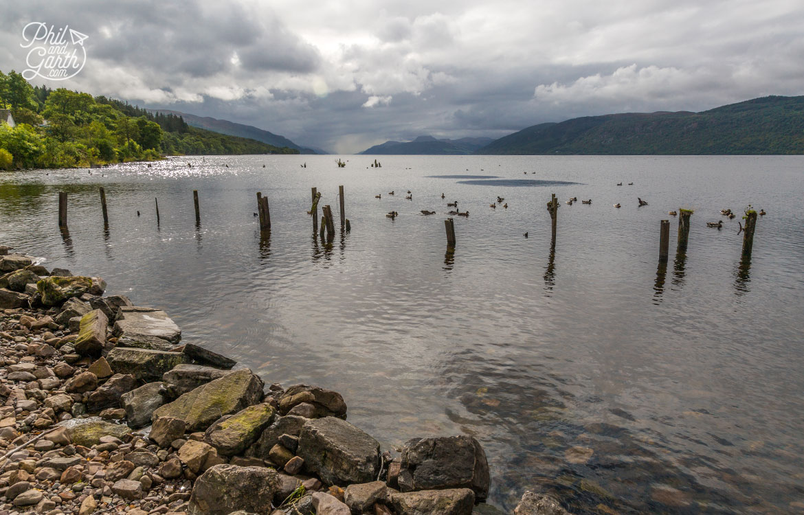 Looking for Nessie across Loch Ness