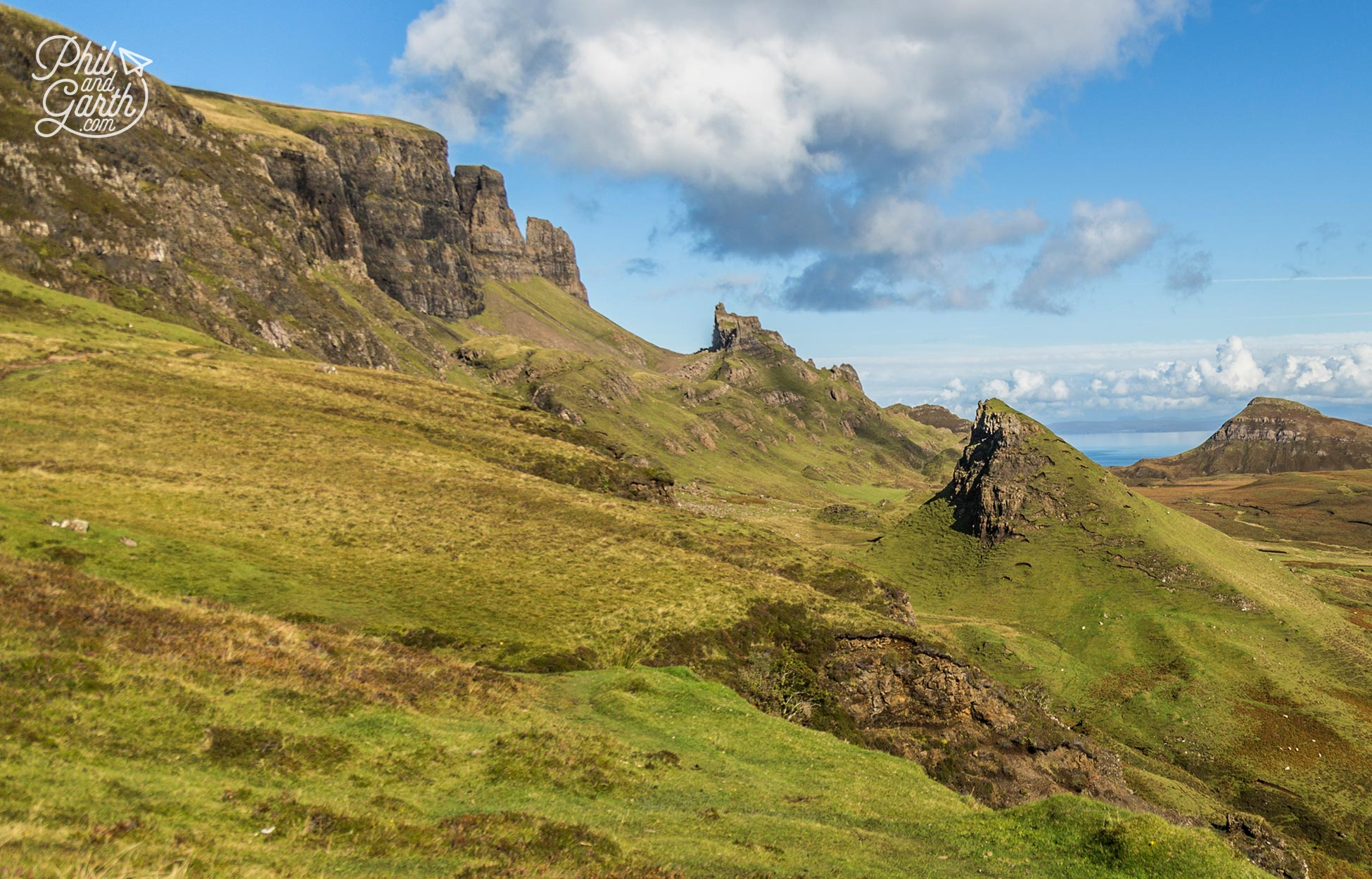 Don't leave Skye without experiencing The Quiraing