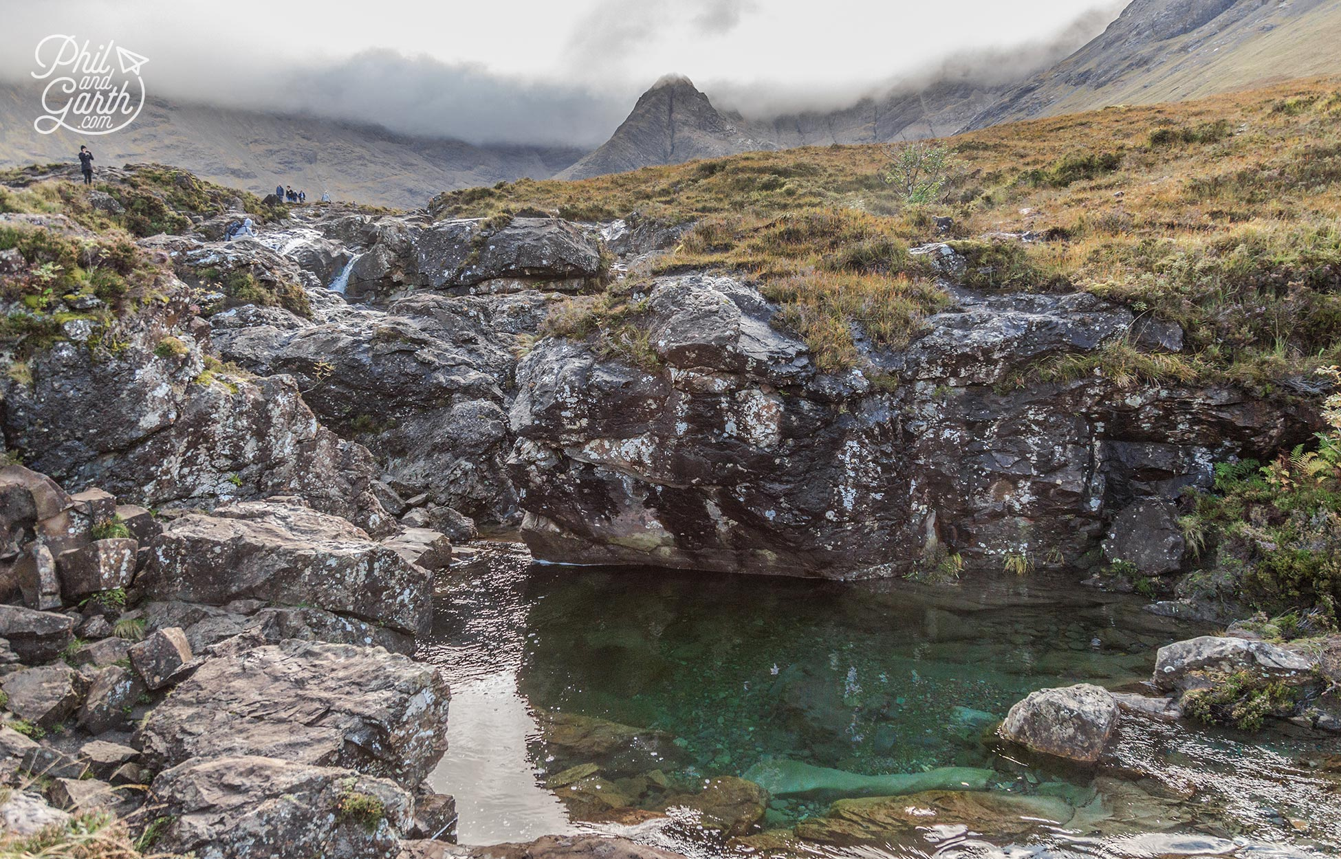 The mythical named Fairy Pools are incredibly atmospheric