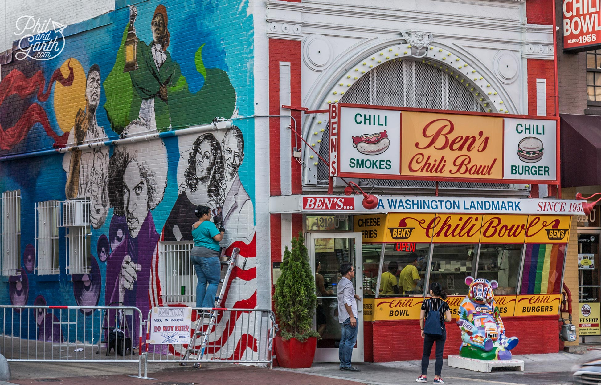 Bens Chili Bowl opened in 1958