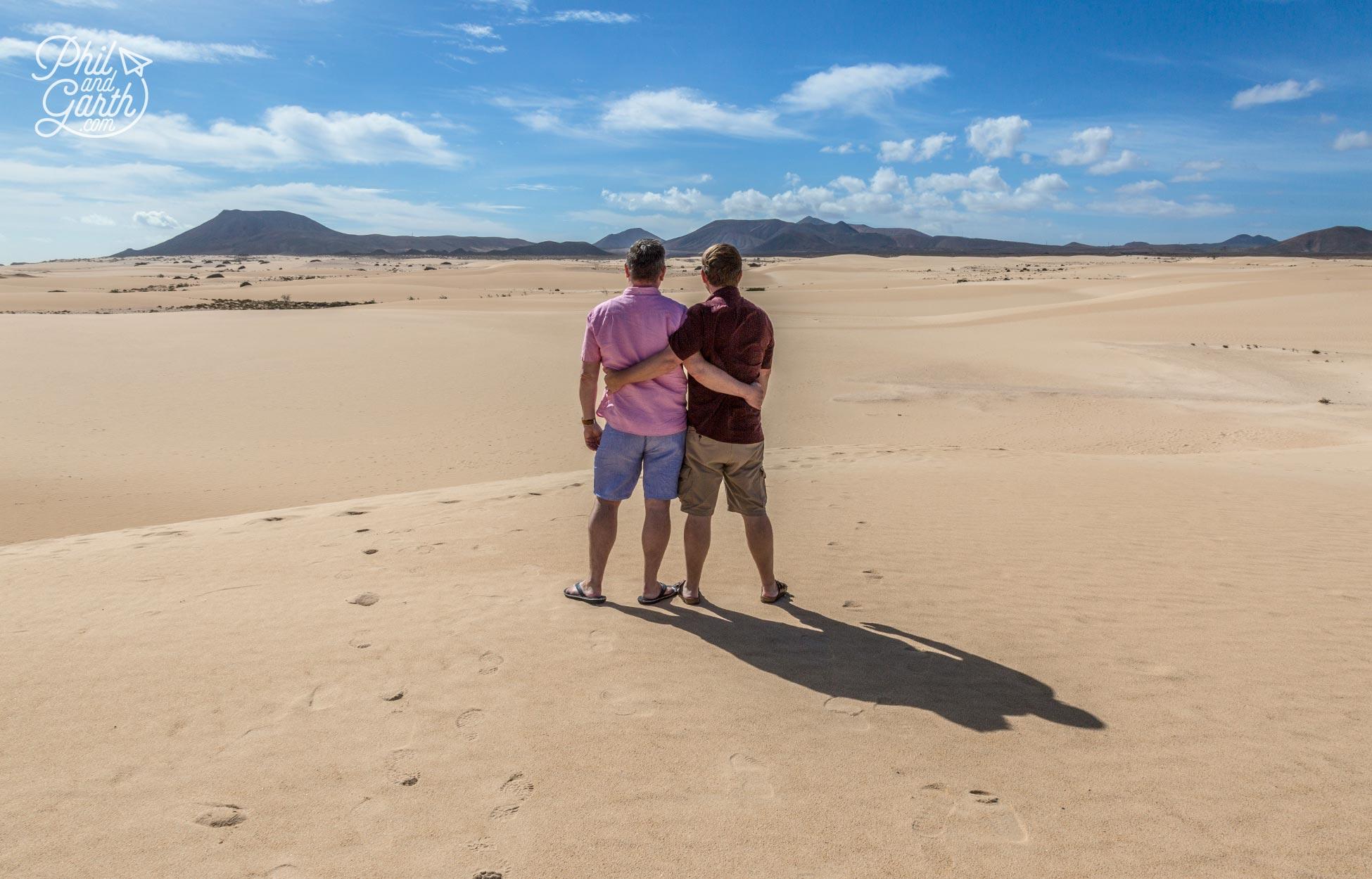 Corralejo's sand dunes