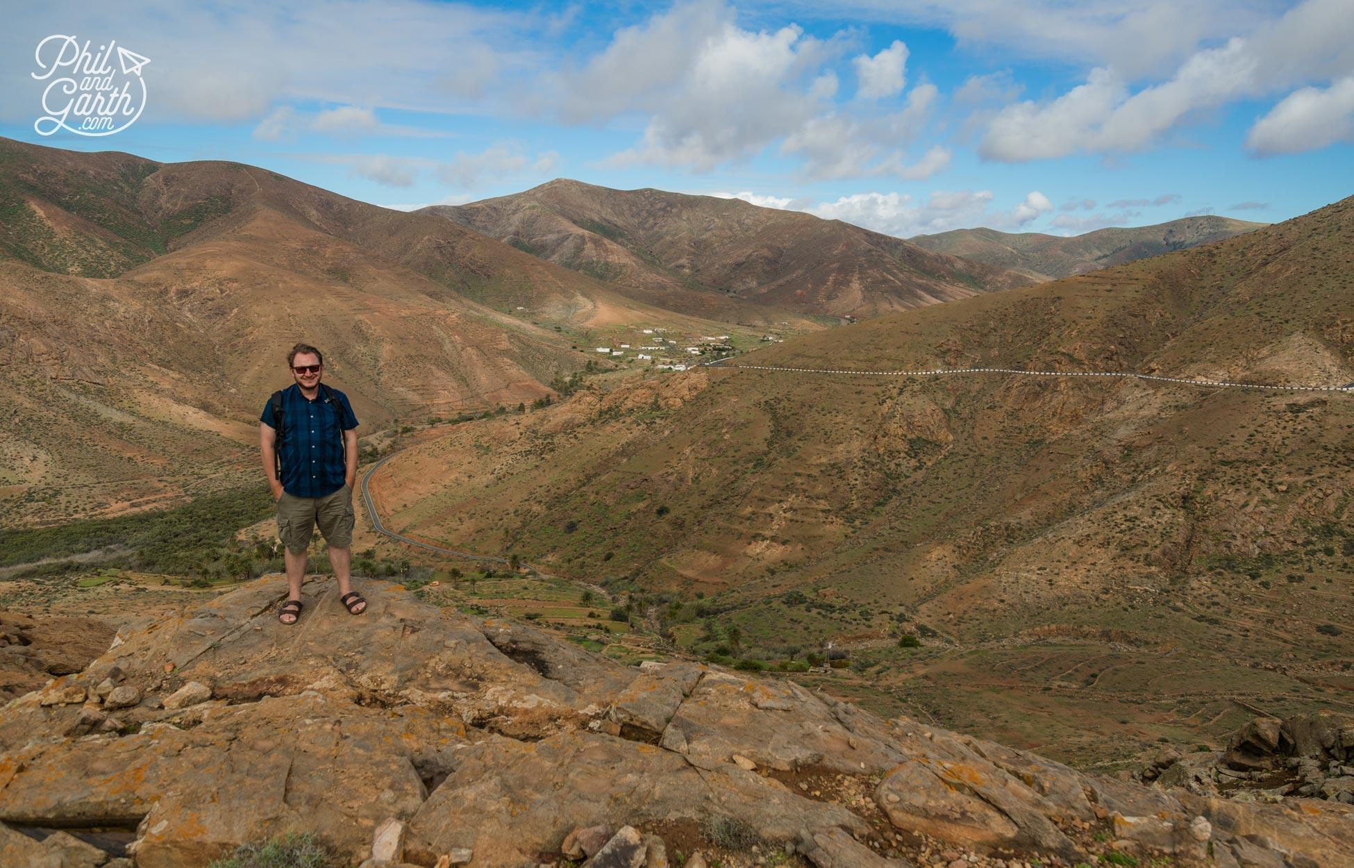 Garth at the Mirador Las Penitas viewpoint