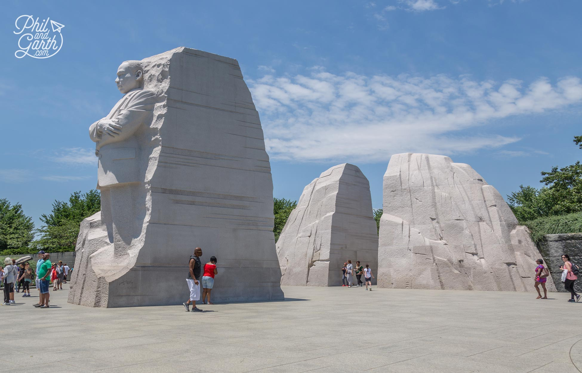 The Martin Luther King Jr Memorial