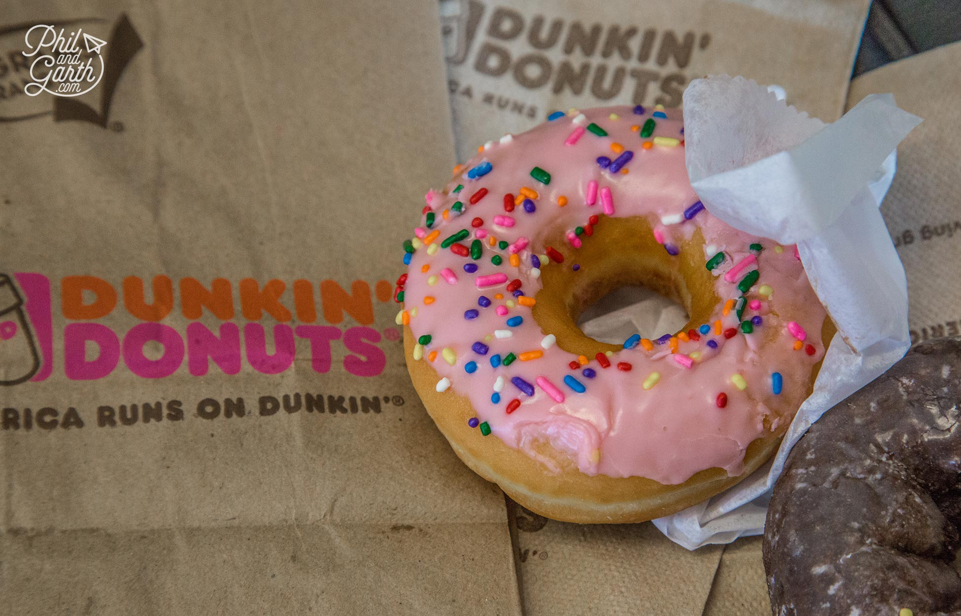 Our first ever Dunkin' Donut